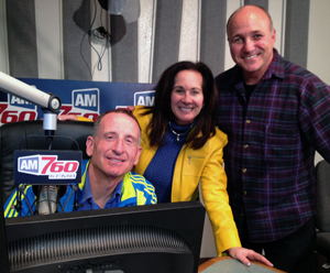 photo of radio show hosts