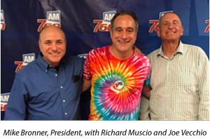 mike bronner with Richard Muscio and Joe Vecchio